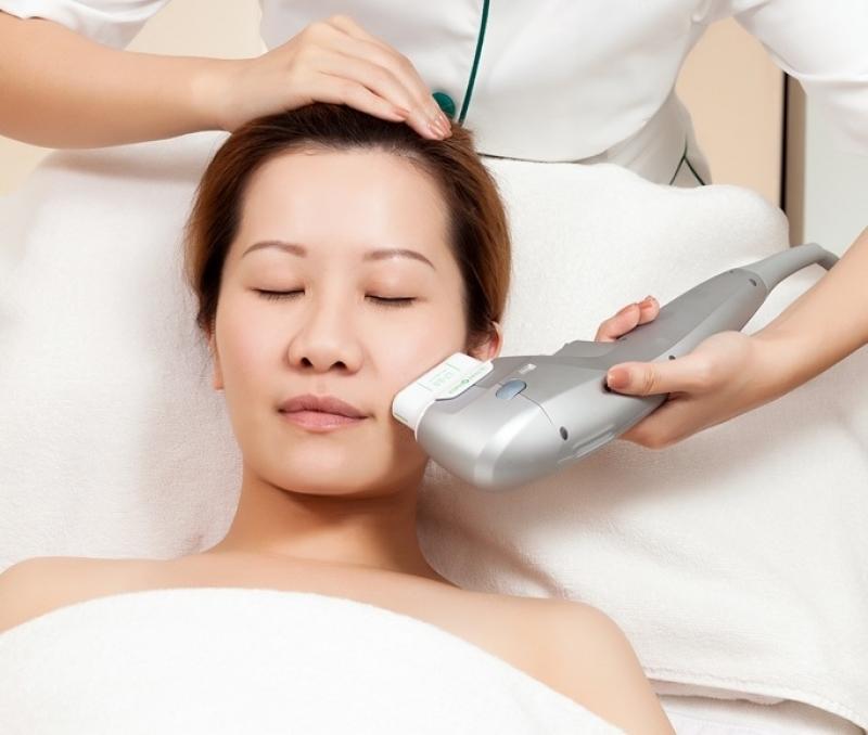 用超聲波修補肌膚?